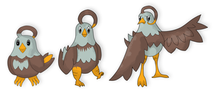 Eggle, Eagling and Reagle by parnorse