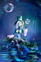 Bubble Lady by Akany89