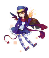 PrinPrinPrinny Queen by AquawindLugia