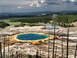 Grand prismatic Spring by MartinGollery
