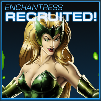 Enchantress Recruited - Marvel Avengers Alliance by icequeen654123