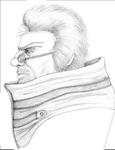 Auron Side View by Kendokata101