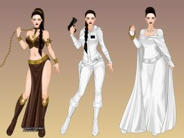 X-Girl Princess Leia by msbrit90