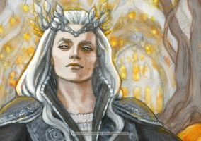 Elu Thingol - detail by BohemianWeasel