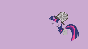 Detective Twilight Minimalist Wallpaper by CHOCLatier07