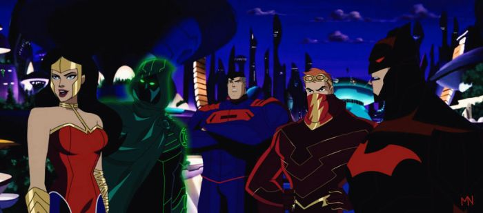 Justice League 3000 | JLU Style by mariananaca