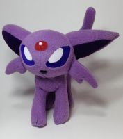 Pokemon - Espeon custom plush by Kitamon