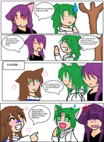 Rikai Comic: My Scarf by Tsukiko74