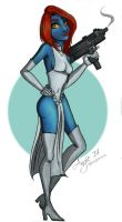 Mystique by caligrl7072