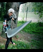 Fenris Dragon Age II by DarkyLeon