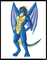 Artrade - Dragon-Rage color by Zwolfs