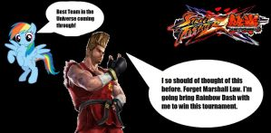 Paul Phoenix Replaces Marshal Law for SFxT by McGreger16