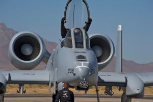 A-10 Ready for takeoff by JonGiblets