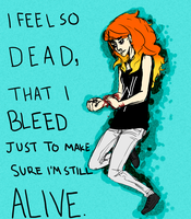 Feel So Dead by ParanoidWaffles