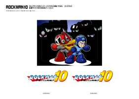 Rockman boxart contest by rongs1234