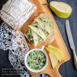 spinach, feta and sunflower seed and pear sandwich by Pokakulka