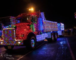 Christmas Truck Parade 2 by ackbad