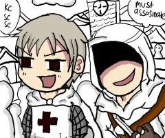 Hetalia creed by VegaAltair