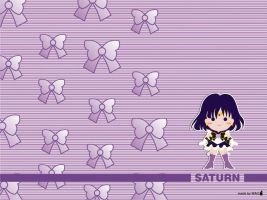 Sailor Saturn - Chibi Style by Willianac