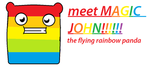 MEET MAGIC JOHN!! by thejellybeanposse