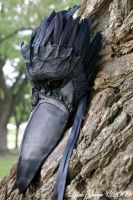 Raven Mask by LilacGrove
