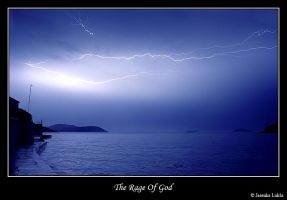 The rage of God by JasenkaLuksa