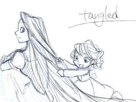 Tangled sketch 1 by chico-110