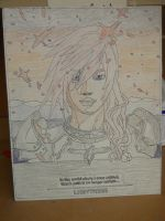Lightning Farron Stained Glass Part 2 by Co-Swagster