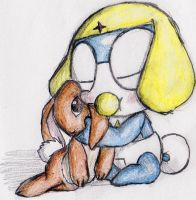 Zeroro and his bunny. by Windymon