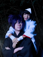 Noragami: Yato and Hiiro by behindinfinity