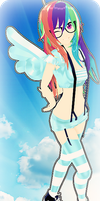 MMD RxNxD RainbowDash 2.0 by RinXNeruXD