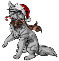 Holiday Puppy Makeable by Eveeoni