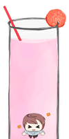 MH: Strawberry Milk by Aiaix
