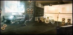 Studio Concept by dT-Kromos-Tb by empersand