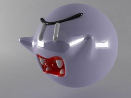 BOO ghost mario by lektracer