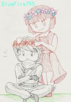 Flower Crowns by BlueFire795