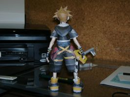 Papercraft Sora KH2 pic.3 by Esteban1988