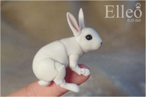 Bunny Bjd Doll 03 by leo3dmodels