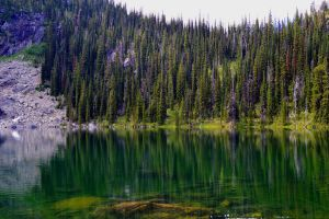 alpine lake by BCMountainClimber
