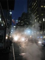 Streets of New York by gingercakes