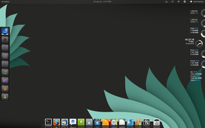 Pinguy Gnome Shell Dark by kenharkey7