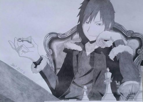 Izaya Chess Board by Darica89