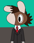 Donkey In A Suit by toamac