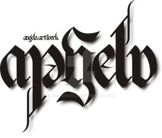 Ambigram Angelo by musaAngelo