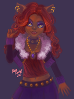 Monster High - Clawdeen by peeps4tea