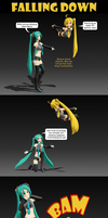 MMD Falling Down by Trackdancer