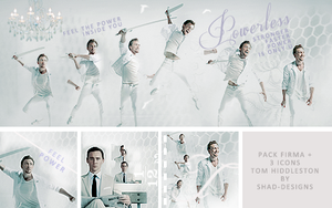 Pack Tom Hiddleston (Firma+Icons) by shad-designs