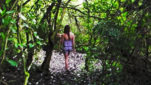 Kati n the green forest by CandiceShadow