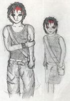 Leon, kid and teen by Ritika-of-fire