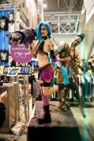 Jinx Draven Cosplay by MissHatred and Leon Chiro by JessicaMissHatred